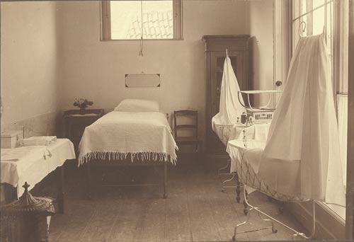 Ziekenhuisbarak als quarantainegebied