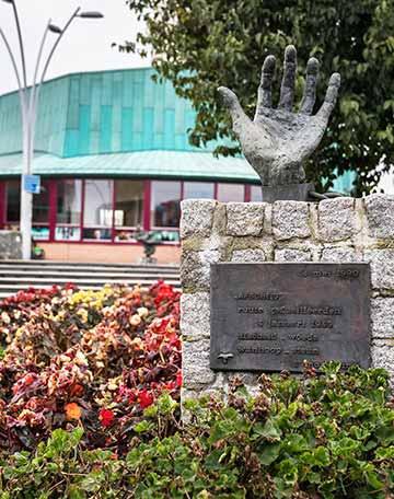 Monument Stille Tocht 1. Afscheid