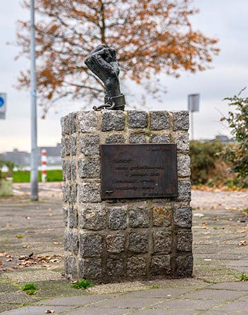 Monument Stille Tocht 2. Woede